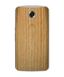 dbrand Bamboo Wood Back Mobile Skin for Motorola Google Nexus 6