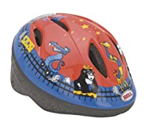Bell Bambino Bike Helmet (Red/Blue, fits head size 18-1/2 - 19-3/4)