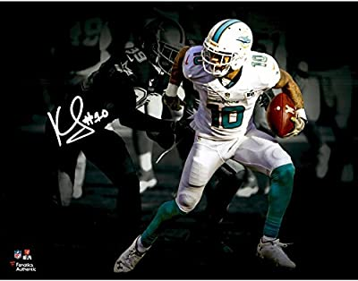 "Kenny Stills Miami Dolphins Autographed 11"" x 14"" Spotlight Photograph - Fanatics Authentic Certified"