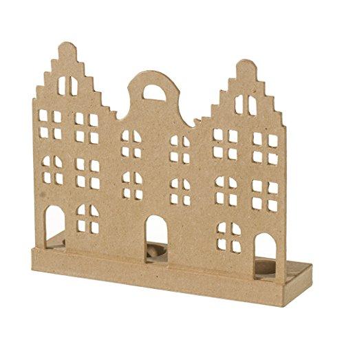 efco-candelabro-silueta-holland-casas-con-insertos-de-2-piezas-y-4-papel-mache-marron-25-x-7-x-22-cm
