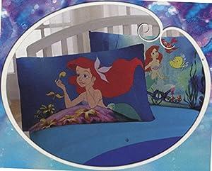 Disney Ariel The Little Mermaid Reversible Pillowcase
