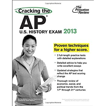 Set A Shopping Price Drop Alert For Cracking the AP U.S. History Exam, 2013 Edition (College Test Preparation)