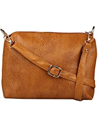 Speed X Fashion Women's Sling Bag (Brown, Sxf6)