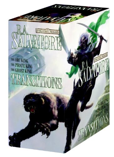 Transitions Gift Set: Orc King, Pirate King, Ghost King, R.A. Salvatore