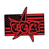 Children Of Bodom Men's Embroidered Patch Red