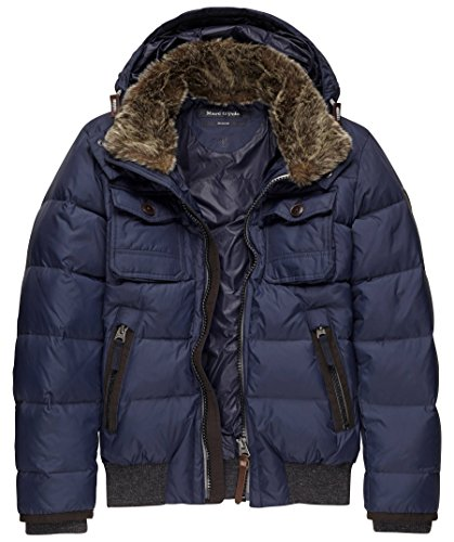 Marc O'Polo Herren Daunenjacke - royal - M