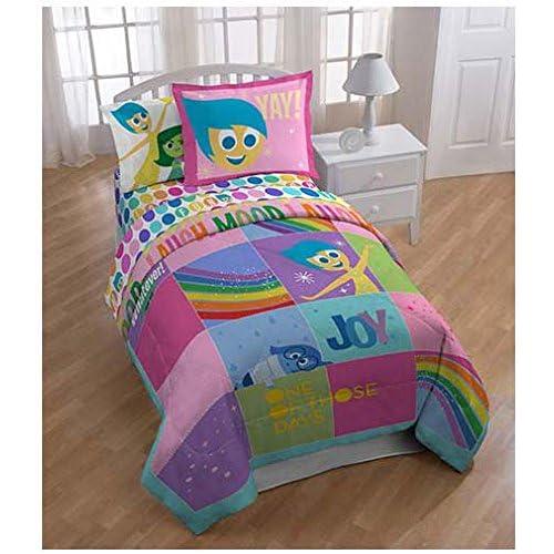 Disney/Pixar Inside Out Rainbow Patchwork Comforter Twin