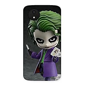 Cute Insane Multicolor Back Case Cover for Micromax Canvas A1