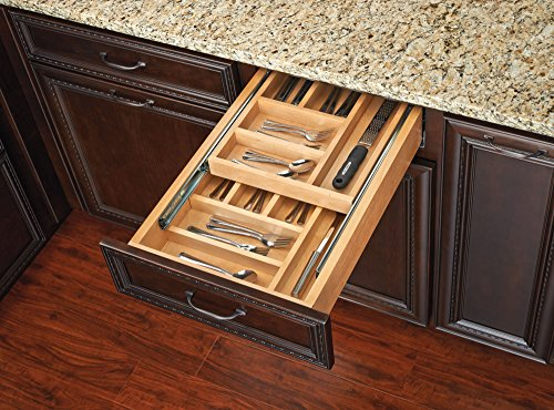 Rev-A-Shelf - 4WTCD-15SC-1 - Double Tiered Cutlery Drawer
