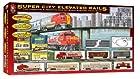 Life-Like Trains  HO Scale Super City Elevated Rails Double Electric Train Set