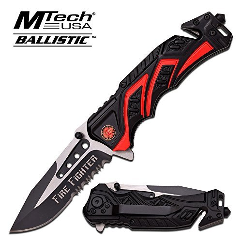 8-Fire-Fighter-Red-MTECH-SPRING-ASSISTED-FOLDING-KNIFE-Blade-pocket-open-switch-Firefighter-Rescue-Pocket-Knife-hunting-knives-military-surplus-survival-and-camping-gear