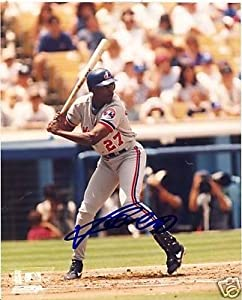 Signed Guerrero Picture - Montreal Expos 8x10 Coa - Autographed MLB Photos by Sports+Memorabilia