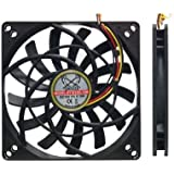 Scythe SY1012SL12M Kaze Jyu Slim 100mm Case Fan 2000 RPM