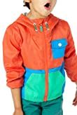 Hooded Colour Block Jacket [T88-9064Y-Z]