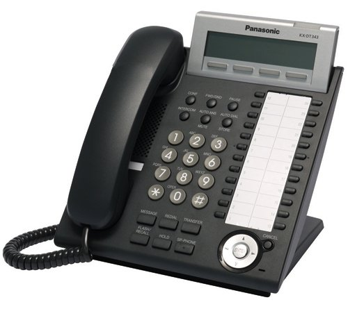 Panasonic KX-DT343 Phone Black (2pk) (Panasonic Xdp compare prices)