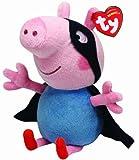 TY UK 6-inch George Peppa Pig Superhero Beanie