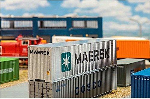 faller-fa-180840-40-hi-cube-container-maersk-zubehor-fur-die-modelleisenbahn-modellbau