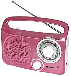 Roadstar TRA-2230L/PK Radio Portable Analogique Rose
