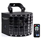 Amaz-Play Stage DJ Lighting Club Party Dance Disco Lights with 27W 9 Colors Effect by Remote Control