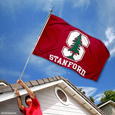 Stanford Cardinal University Large College Flag