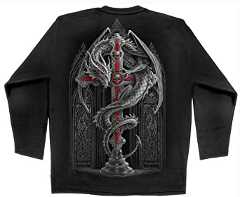 SPIRAL DIRECT Alter Drake Dragon Long Sleeved Top Large / XL