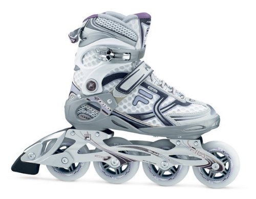 Fila Primo Wave Inline Womens Skates - Uk 6, White-Lilla