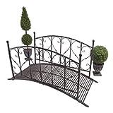 Design Toscano DC120931 Metal Garden Lovers Bridge