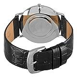Stuhrling Original Men's 216A.33151 Classic Ascot Belmont Swiss Quartz Slim Black Dial Watch Rating