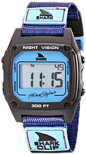Freestyle Unisex 10019183 Shark Clip Digital Display Japanese Quartz Purple Watch (Shark Freestyle Watches compare prices)