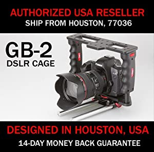 PNC DSLR Camera GearBox GB-2 Video Accessory Cage comes W/ 15mm Rod