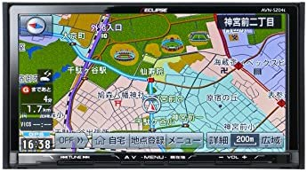 ECLIPSE イクリプス AVN-SZ04i 7型 カーナビゲーション 自動地図更新 SD/CD/DVD/Bluetooth/Wi-Fi/地上デジタルTV(フルセグ)