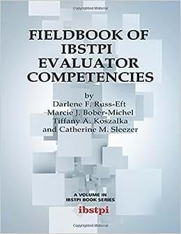 Fieldbook Of Ibstpi Evaluator Competencies (Ibstpi Book)