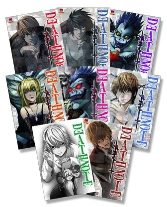 Death Note 1 - 8 Folge 01 -37 - 8er DVD - Komplettset - Deutsch