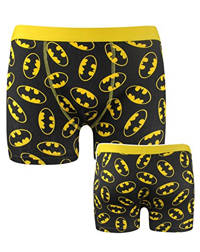 Official Batman All Over Logo Boxer Shorts (XL)