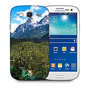 Snoogg Forest Of Christmas Trees Designer Protective Phone Back Case Cover For Samsung Galaxy S3