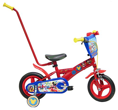 """Bicicletta ufficiale 10"""" Disney """"Mickey Mouse Clubhouse"""""""