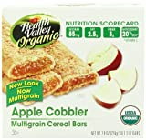 Health Valley Organic Multigrain Cereal Bars, Apple Cobbler, 6 Count (Pack of 6)