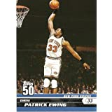 2007-08 (2008) Topps 50th Anniversary Limited Edition # 47 Patrick Ewing New York... by Topps