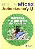 img - for Barbara y el misterio de Ariadna: Juego De Lectura (Juegos De Lectura) (Spanish Edition) book / textbook / text book
