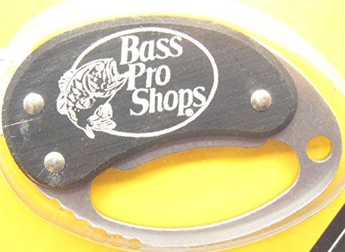 Buck Bass Pro Shops 759 Black Metro Small Key Chain Knife Tool & Bottle Opener