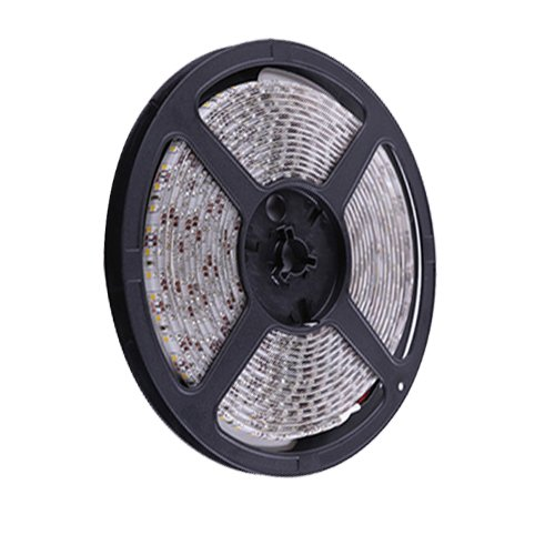 Ggl Waterproof Superbright 3528 Smd 300-Led Red Flexible Pcb Led Strip Light Flash Lamp Ribbon With Self-Adhesive Tape Backing 16.4Ft 5M Per Reel - Ideal For Various Residential Industrial Commercial Decorative Lighting Applications