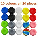 Pandaren® Thumb Grip Caps 10 sets for PS2, PS3, PS4, Xbox 360, Xbox One, Wii U tablet controller
