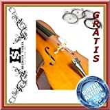 CELLO set for beginner - size 1/16 to 4/4 - set up in GERMANY (1/4, amber)