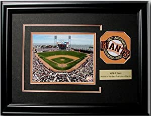 CGI Sports Memories San Francisco Giants AT&T Park Photo Frame with 3D Double Mat by CGI Sports Memories