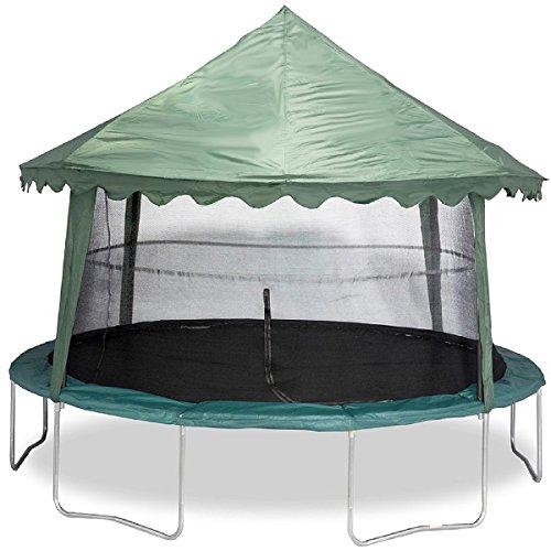 Jumpking-14-Tr&oline-Canopy-Cover  sc 1 st  Tr&oline Warehouse & Jumpking 14u2032 Trampoline Canopy Cover | Trampoline Warehouse