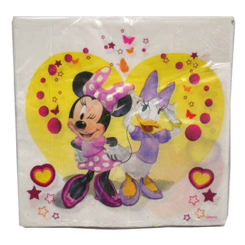 20ct Minnie And Daisy Lunch Napkins : package of 20
