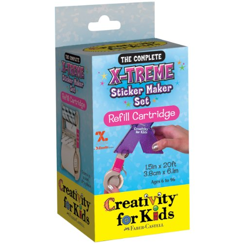 Creativity for Kids  X-treme Sticker Refill Maker