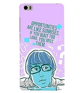 PrintVisa Cool Boy Quotes 3D Hard Polycarbonate Designer Back Case Cover for Xiaomi Redmi Mi5