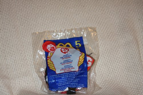 2000 McDonalds Happy Meal Teenie Beanie Lucky Ladybug - 1