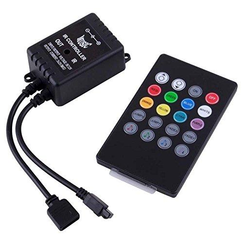 Cosy Cute Music Ir Controller 20 Key Remote Sound Sensor For 3528/5050 Rgb Led Light Strip
